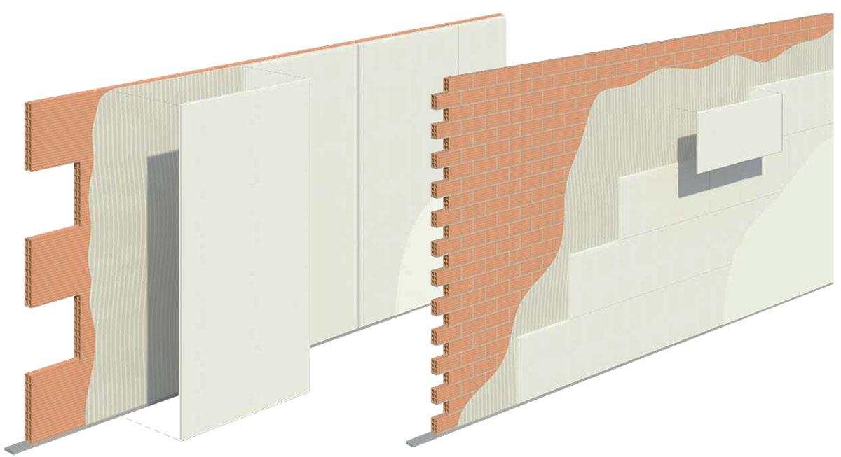 Simulación Sistema Silensis con pared de ladrillos
